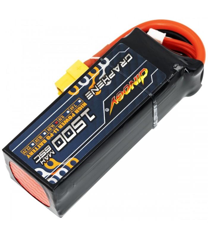 4S-1500mAh -65C - Dinogy Graphene - Batteria LiPo
