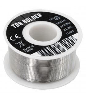 TBS Solder 0.8mm - 100g - Stagno professionale 63/37 - Flux 1.8%