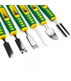 Set 6 utensili per riparazione con doppia estremità in metallo - REPAIR TOOL