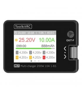 ToolKitRC M7 - 200W 10A - Caricabatterie e bilanciatore multifunzionale