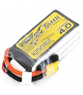 6S-1050mAh-130C - Tattu R-Line V4.0 Lipo Battery Pack - 22.2V - XT60