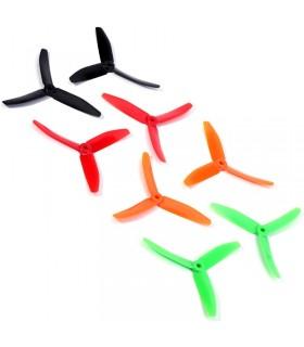 Dys X50403 - 2x Eliche tripala ad alte prestazioni - Punta Bullnose - FPV propeller