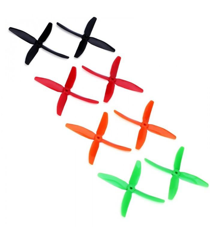 Dys X50404 - 4x Eliche quadripala ad alte prestazioni - Punta Bullnose - FPV propelle