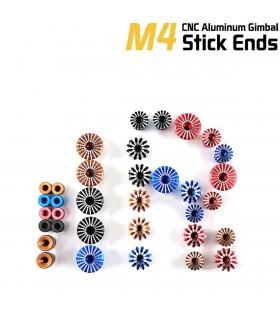 M4 FrSky Vantac 4mm CNC Aluminum Gimbal Stick Ends