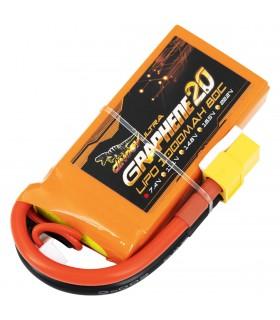 2S-1000mAh-80C - Dinogy Ultra Graphene - Batteria LiPo
