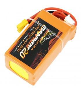 4S-600mAh-80C - Dinogy Ultra Graphene - Batteria LiPo