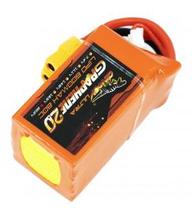 6S-600mAh-80C - Dinogy Ultra Graphene - Batteria LiPo