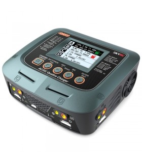SkyRC Q200-4 uscite LiPo-LiHV-Carica Batterie-AC-DC Balance Charger Discharger