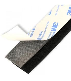 Velcro biadesivo 20x3cm doppio - Fisaggio batterie e accessori-3M